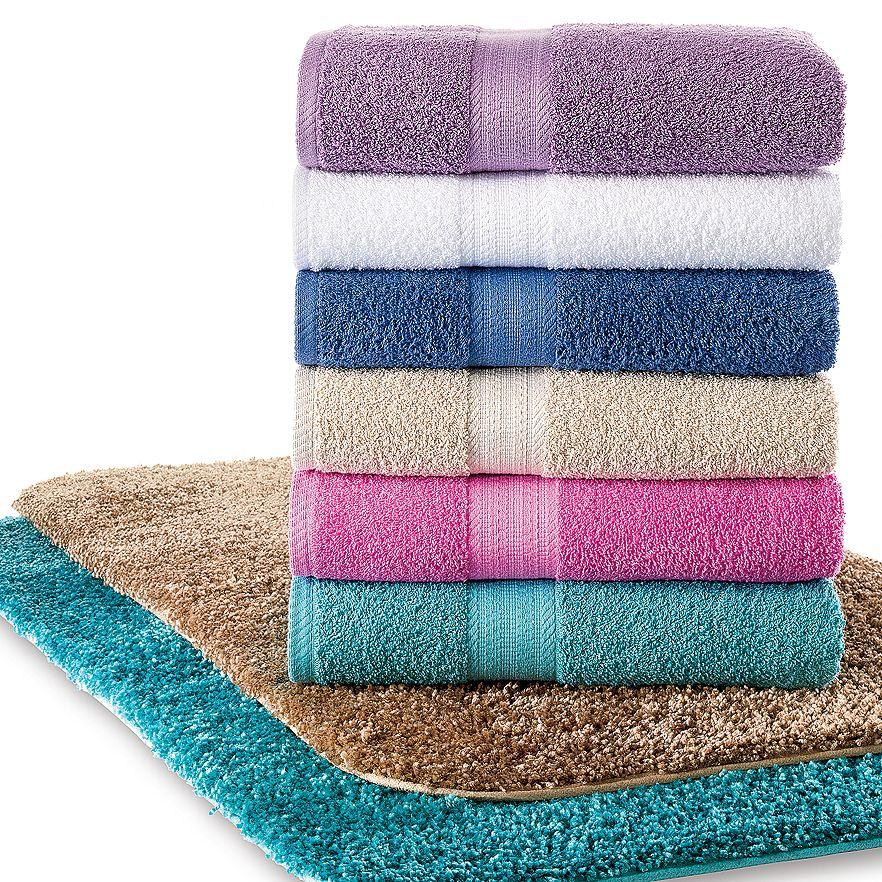 The Big One Solid Bath Towels @ Kohl's