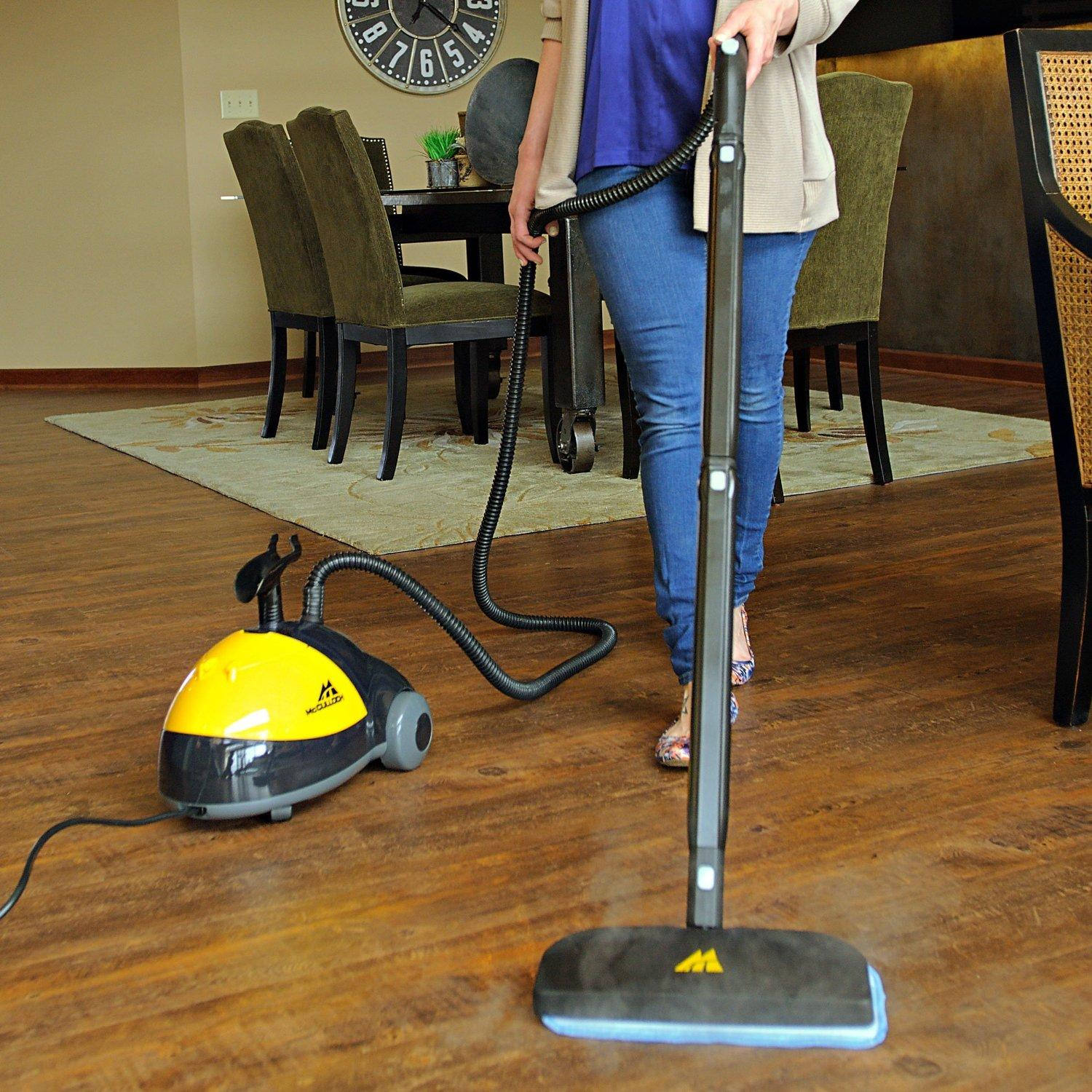 $106 McCulloch MC-1275 Heavy-Duty Steam Cleaner