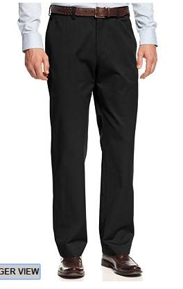 Haggar Authentic Chino Straight Fit Casual Pants