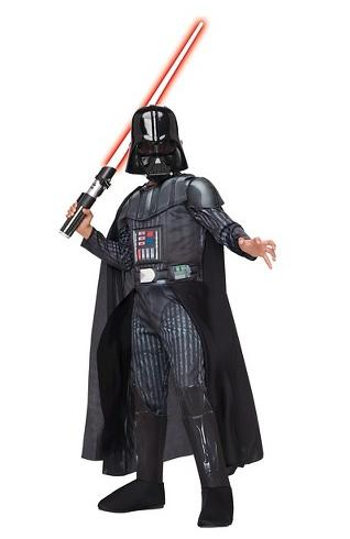 Boy's Star Wars: Darth Vader Deluxe Costume