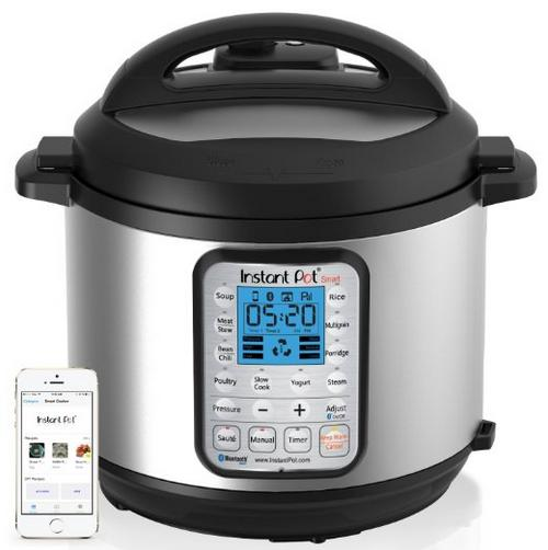 Instant Pot IP-Smart Bluetooth-Enabled Multifunctional Pressure Cooker