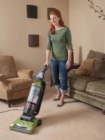 $64.99 Hoover WindTunnel T-Series Rewind Plus Bagless Upright, UH70120
