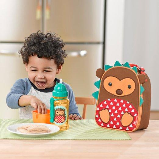 Skip Hop Zoo Lunchie Insulated Lunch Bag, Hedgehog