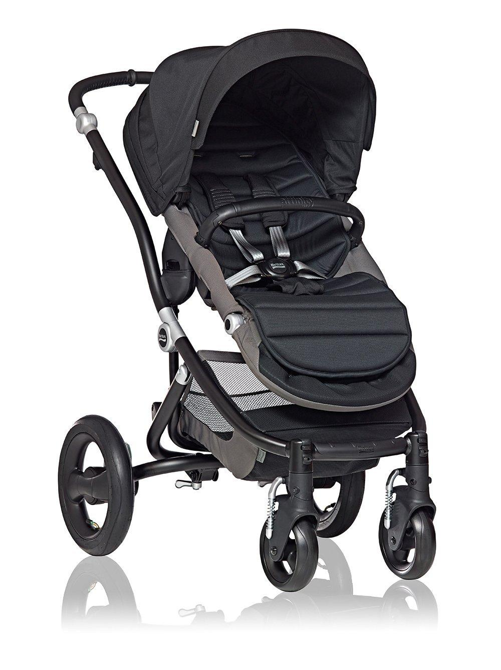 Britax Affinity Stroller Black with Color Pack, Black