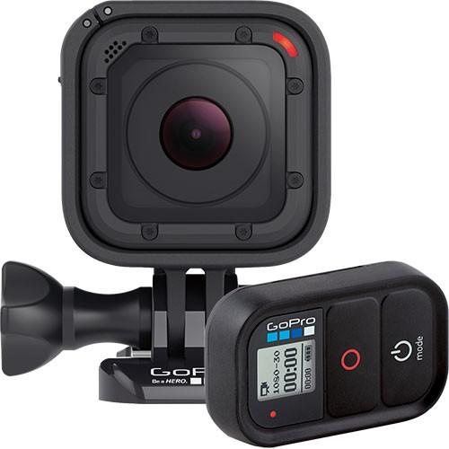 $299.99 Free GoPro Wi-Fi Remote with GoPro HERO4 Session HD Waterproof Action Camera