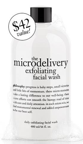 Free Full Size Cleanser with $45 Order @ philosophy