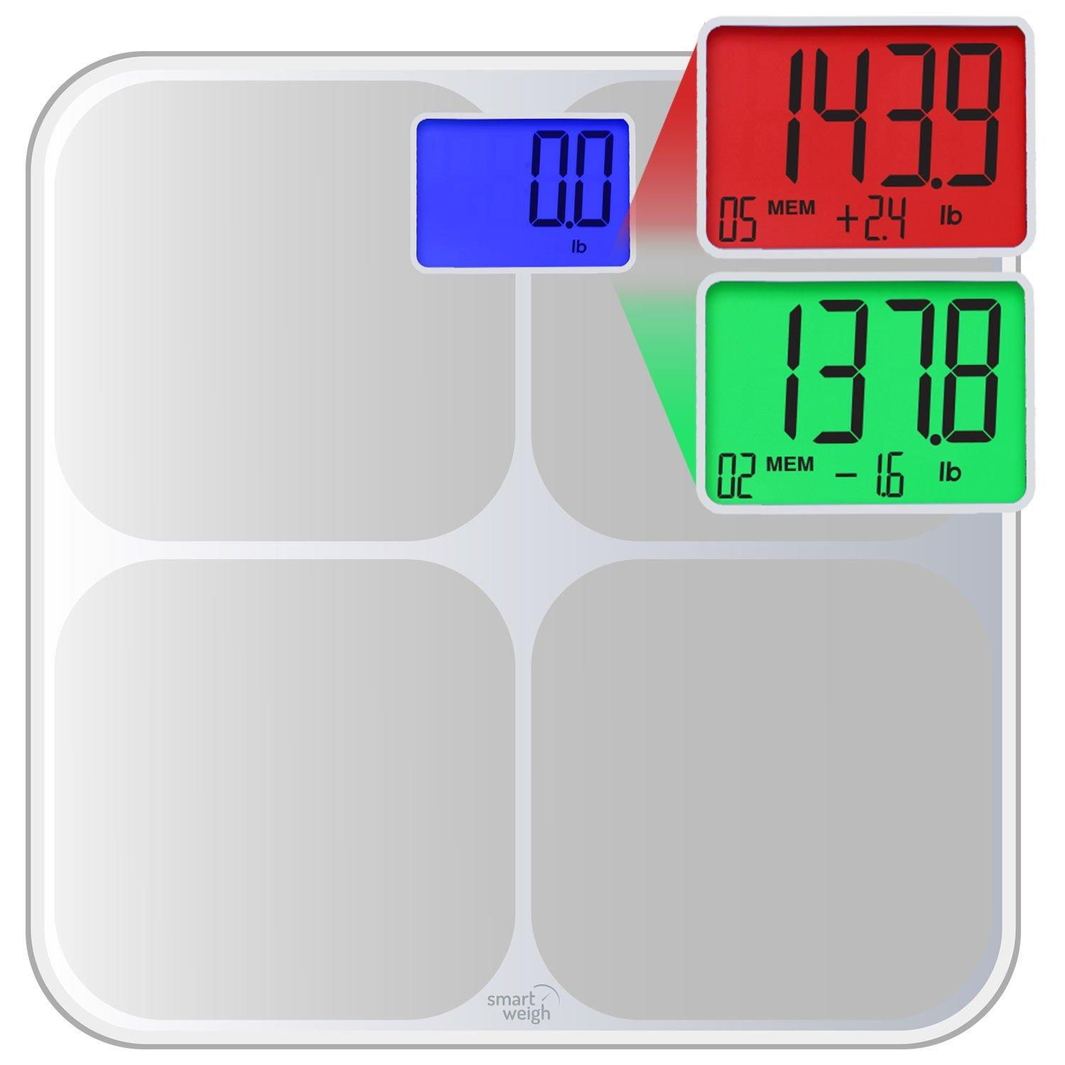 Smart Weigh SMS500 Digital Bathroom Scale