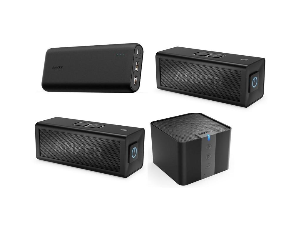 As low as $16.99 Anker PowerCore Portable Charger & Anker Bluetooth Speakers