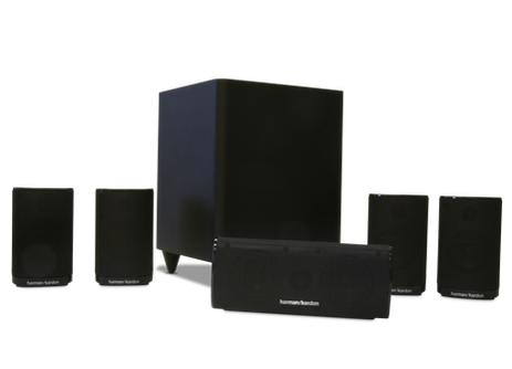 HARMAN/KARDON HKTS 5 Compact 5.1-channel home theater speaker system