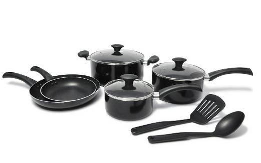 WearEver Nonstick Cookware Set, 10-Piece