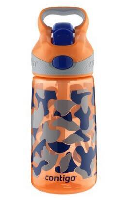 $9.59 Contigo AUTOSPOUT Kids Striker Water Bottle, 14-Ounce