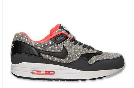Men's Nike Air Max 1 Leather Premium Running Shoes