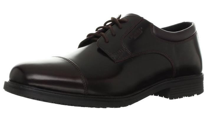 Rockport Men's Essential Details Waterproof Cap Toe Oxford