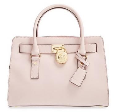 MICHAEL Michael Kors 'Medium Hamilton' Saffiano Leather Satchel @ Nordstrom