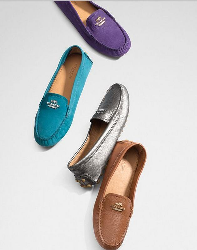 Up to 75% Off Coach Women's Loafers On Sale @ 6PM.com