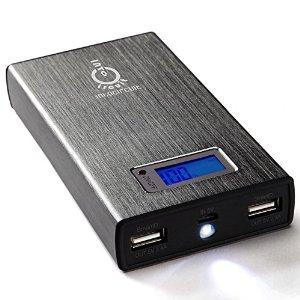 Intocircuit 13000 mAh 4.8A Dual USB Power Castle Portable External Battery Charger
