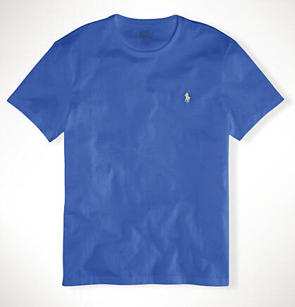 Ralph Lauren CUSTOM-FIT JERSEY T-SHIRT