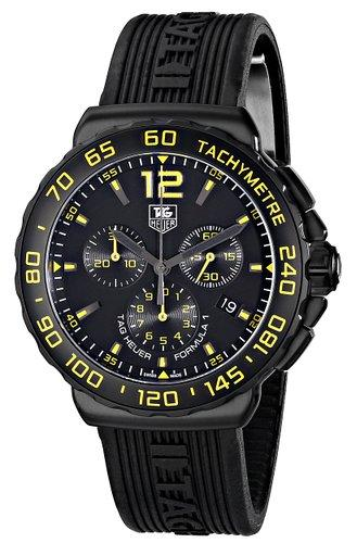TAG Heuer Men's CAU111E.FT6024 Analog Display Quartz Black Watch