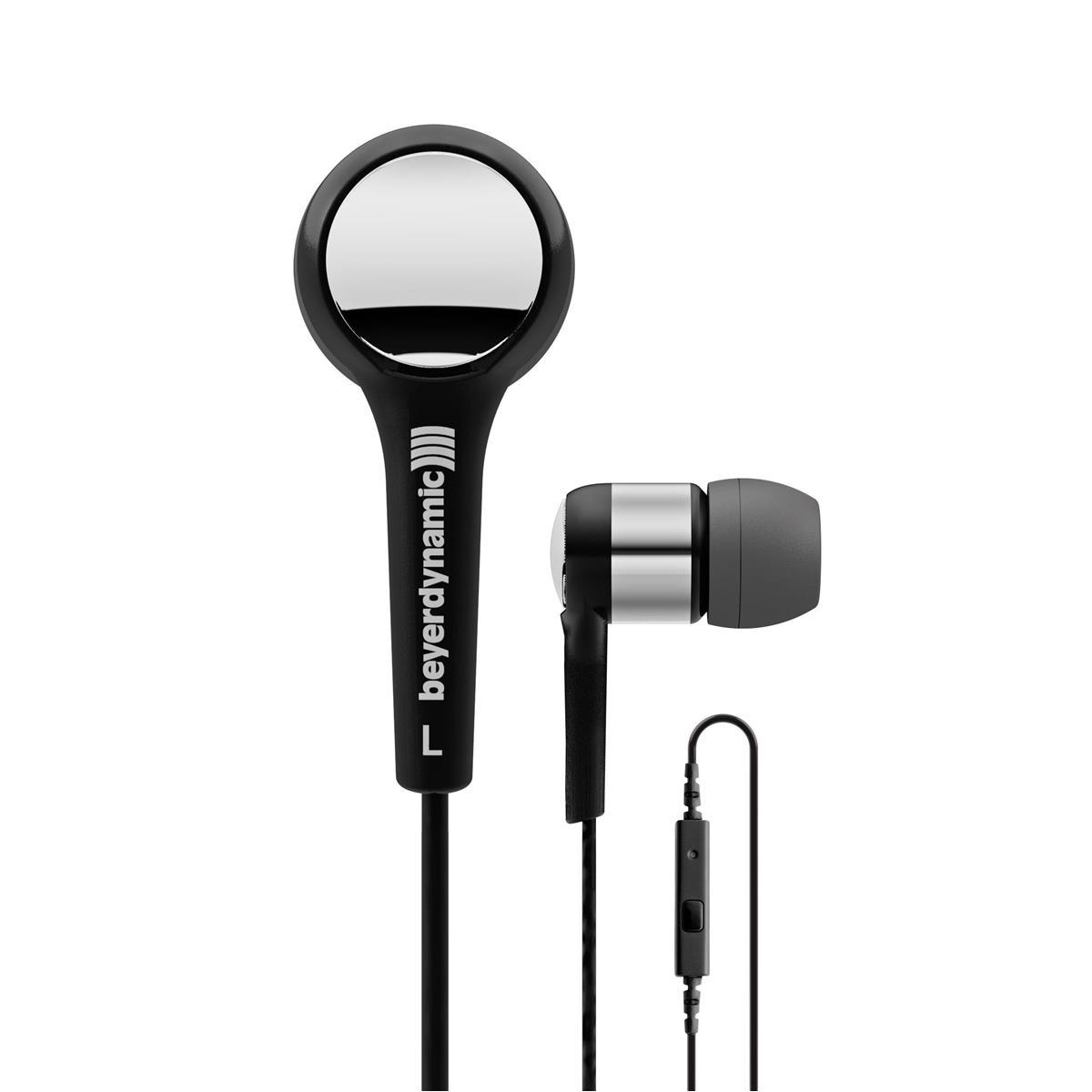 Beyerdynamic MMX 102 iE In-Ear Headphones with In-Line Microphone (Black)