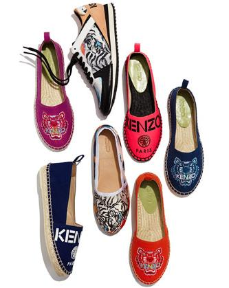 Extra 25% Off Kenzo Women's Shoes On Sale @ YOOX.COM