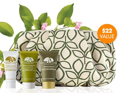 Free 4-Pieces Gift Set + Free Origins Body Wash Sample with Any $45 Origins Purchase @ Beauty.com