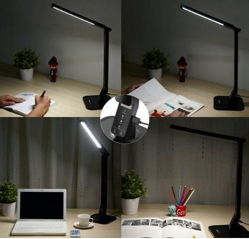 $42.99 icefox Eco-friendly Dimmable LED Desk Lamp