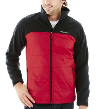 Columbia Barlow Pass Hybrid Jacket