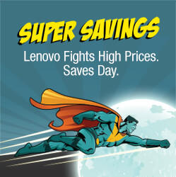 Save up to 43% Lenovo Super Savings Sale!