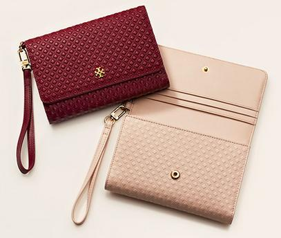 Up to 30% OFF Wallets  @ Tory Burch