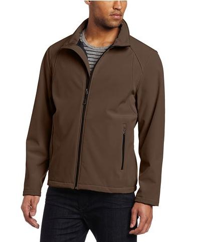 Calvin Klein Men's Softshell Zip Front Jacket