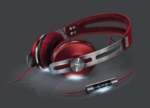 Sennheiser Momentum On-Ear Headphone (Red)