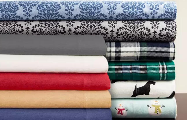 From $20 Winter Nights 100% Cotton Flannel Sheet Set