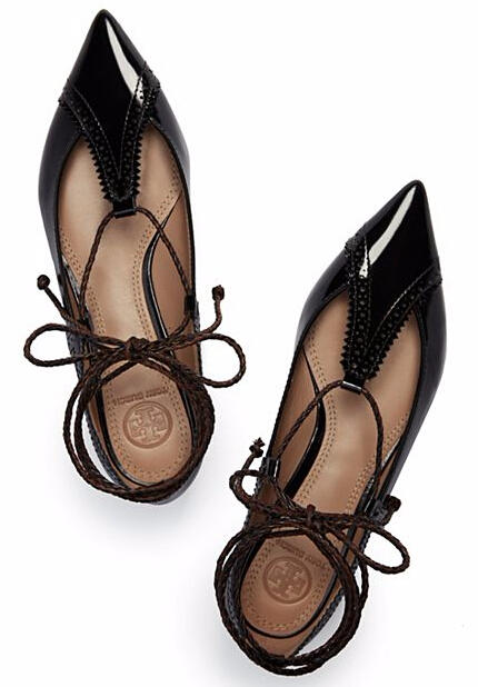 Tory Burch VARENNE LACE-UP FLAT