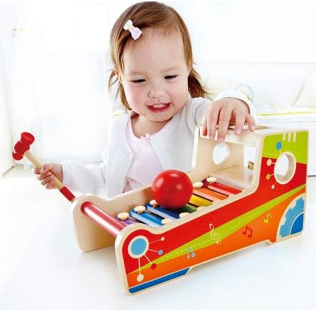 Hape Wooden Instrument Bench