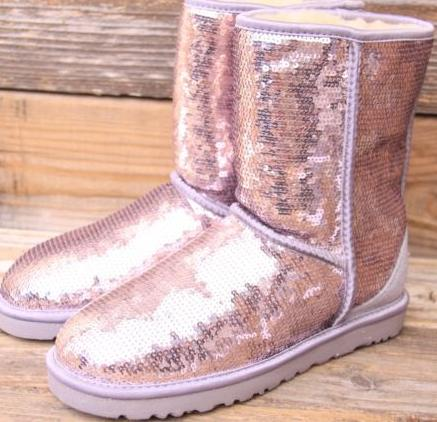 UGG Australia Classic Short Sparkle Boot On Sale @ Nordstrom Rack