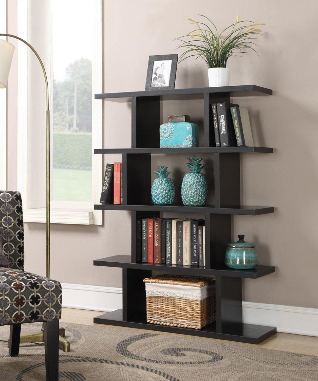 Convenience Concepts 121015 Northfield Block Bookshelf