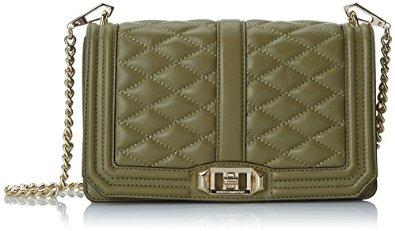 Rebecca Minkoff Love Cross Body Bag, Army, One Size