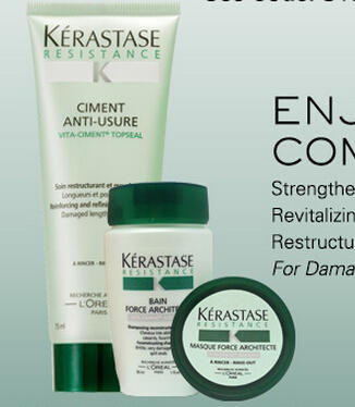 Free 3 Pc Gift with $60 Purchase at Kerastase
