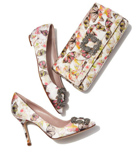 Up to $100 Off Manolo Blahnik Shoes Purchase at Neiman Marcus