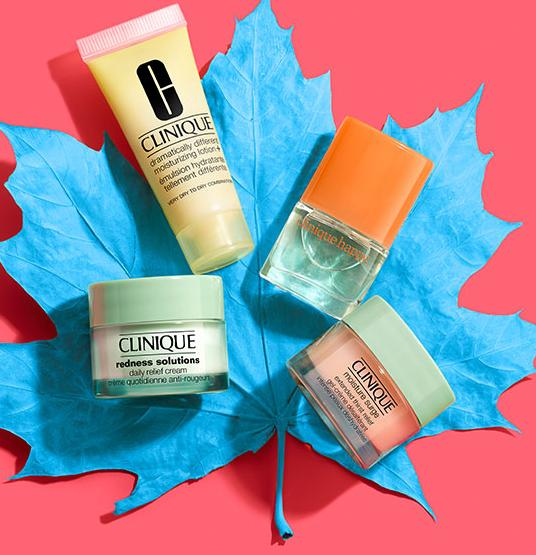 Pick 4 Minis + Free Shipping with Any $40 Purchase @ Clinique