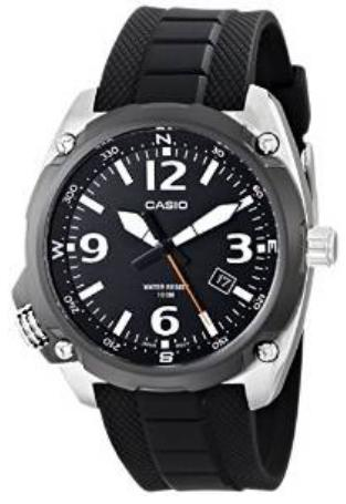 Casio Men's MTF-E001-1AVCF