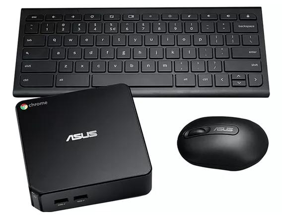 ASUS CHROMEBOX-M075U Desktop Bundle with Wireless Keyboard and Mouse