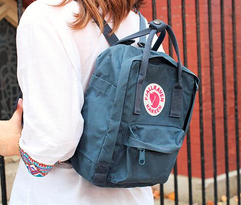 From $35.19 Fjallraven Kanken Backpack sale @ Moosejaw