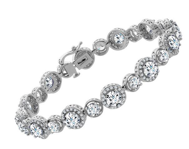 Tennis Bracelet with Swarovski Zirconia