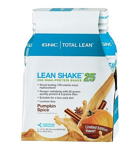 From $10.99 NEW Fall Flavors in Pumpkin & Cinnamon @ GNC