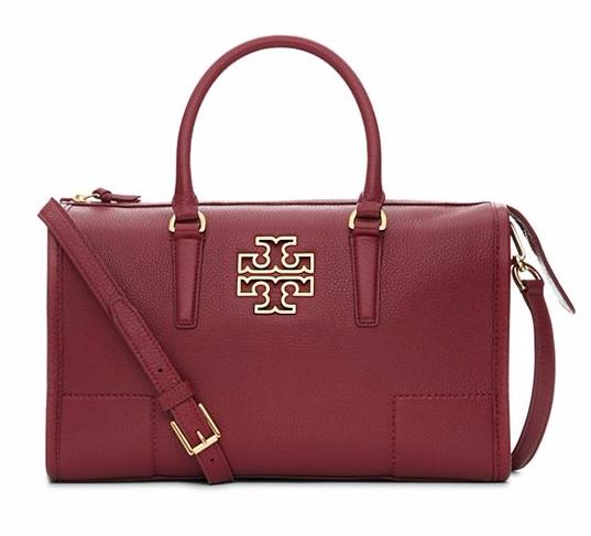 Up to 30% OFF Tory Burch BRITTEN Satchel  (3 colors)