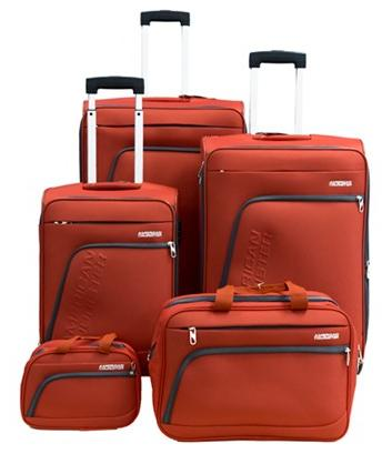 American Tourister Glider 5-Piece Spinner Luggage Set