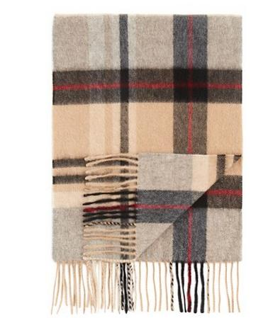 25% Off Bloomingdale's Plaid Cashmere Scarf for Men @ Bloomingdales