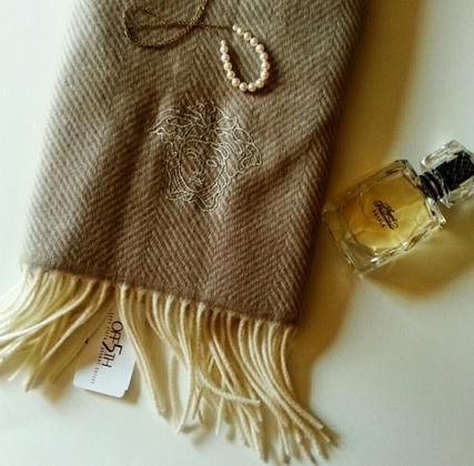 Up to 63% Off Versace Wool Scarf @ Saks Off 5th