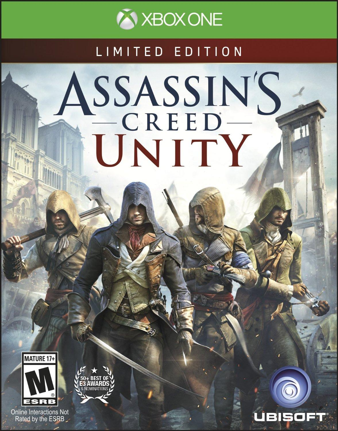 $13.99 Assassins Creed Unity Xbox One